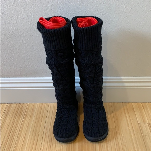70fdaa81c33 NEW Over-the-knee Cable Knit Sweater UGG Boots NWT